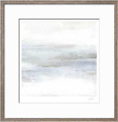"""Cape Horizon II / 34"""" x 35"""" / Lancaster Gray Frame, - art.com"""