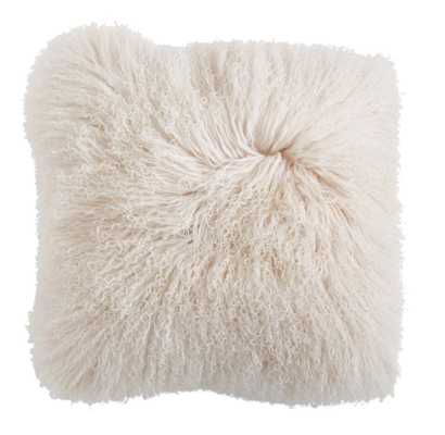 Bardot Lamb Fur Pillow - Studio Marcette