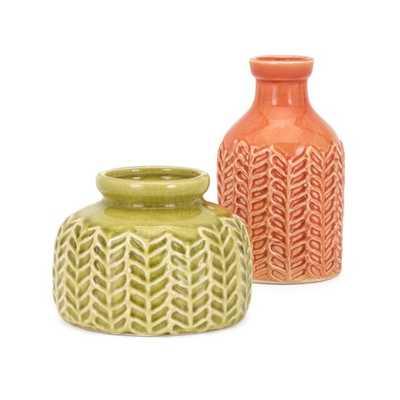 Matilida Vases - Set of 2 - Mercer Collection