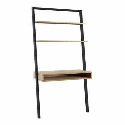 Theophanes 2 Tone Leaning Desk - Wayfair
