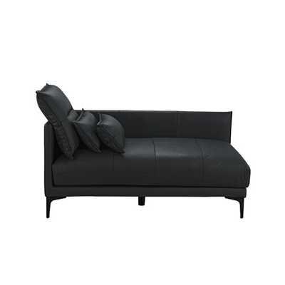 Jerald Chaise Lounge _ Black - Wayfair