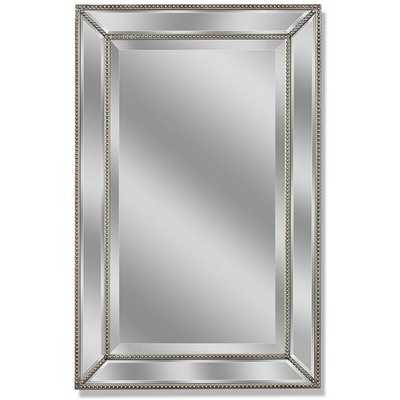 Beaded Accent Wall Mirror - Wayfair