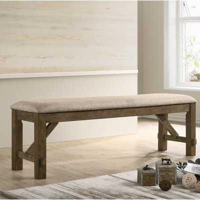Poe Upholstered Bench - Wayfair