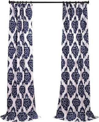 Atkins Ikat Room Darkening Tab Top Single Curtain Panel - Wayfair