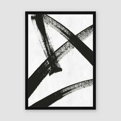 Framed Print Running Man - West Elm