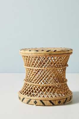 Woven Accent Table - Anthropologie