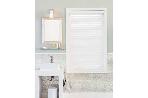 """2"""" White Wood Blinds - 48x60 - The Shade Store"""