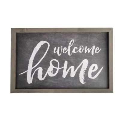 WELCOME HOME FRAME WALL DÉCOR - Birch Lane