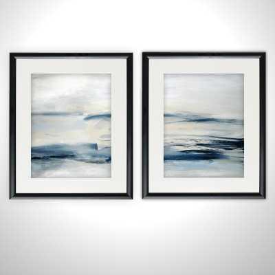 'Drifting Tides' 2 Piece Framed Print Set - Wayfair