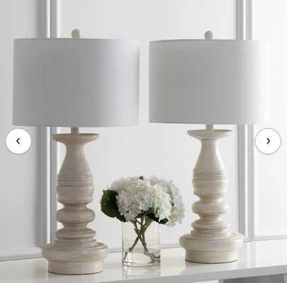 "Almaden 29"" Table Lamp - set of 2 - Wayfair"