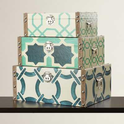 Eowyn 3 Piece Storage Box Set - Wayfair