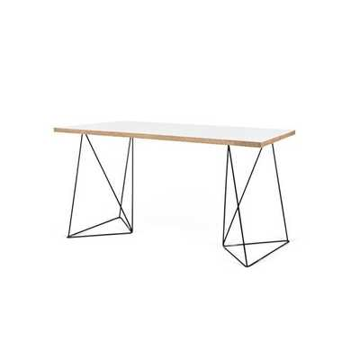 Wolak Wood Writing Desk - Wayfair