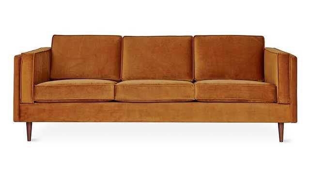 Adelaide Sofa in Rust design by Gus Modern - Burke Decor