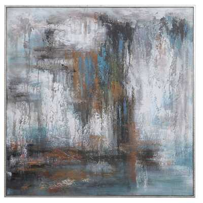 DOWNPOUR HAND PAINTED CANVAS - Hudsonhill Foundry