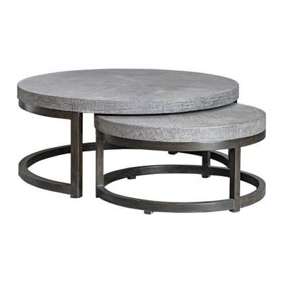 Aiyara, Nesting Tables, S/2 - Hudsonhill Foundry