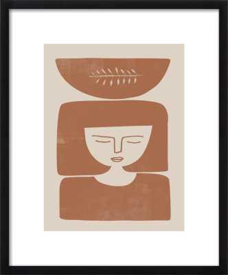 "The Terracotta Bowl 16""x20"" - Artfully Walls"