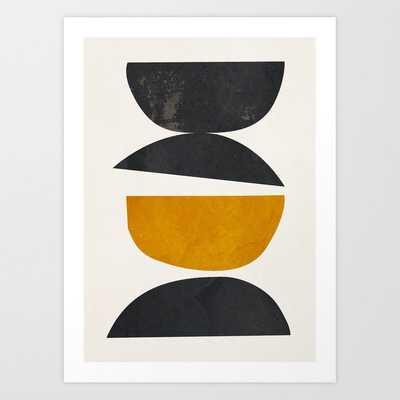 "abstract minimal 23 Art Print by ThingDesign 17""X22"" - Society6"