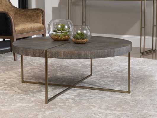 Taja Coffee Table - Style # 78D65 - Hudsonhill Foundry