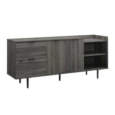"Pillar TV Stand for TVs up to 65"" - Wayfair"