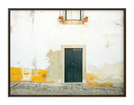 óbidos wall art, 40x30, matte black frame - Minted