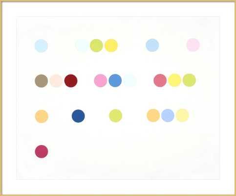Dots (Love) by Rankin Willard for Artfully Walls - Artfully Walls