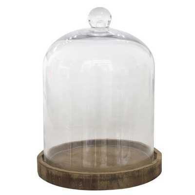 Donna Glass Dome Cloche - Wayfair