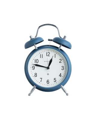 GREENWICH ALARM CLOCK - BLUE - McGee & Co.