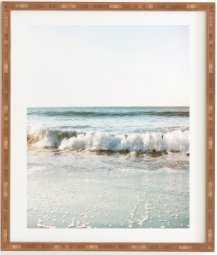 """Fade Away Framed Art Print - 14""""x16.5"""" - Wander Print Co."""