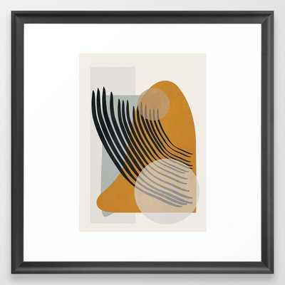 Abstract Shapes 33 Framed Art Print - Society6