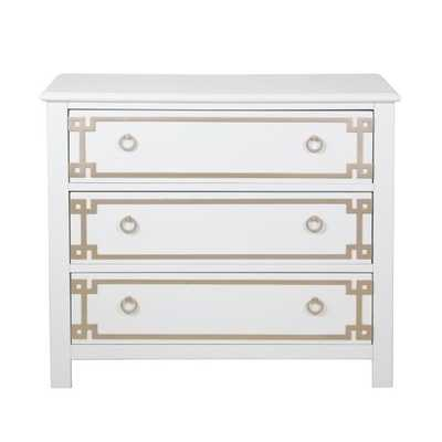 Dipasquale Overlay 3 Drawer Accent Chest - Wayfair