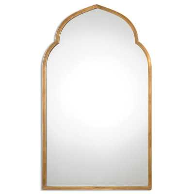 Gold Arch Wall Mirror - Wayfair