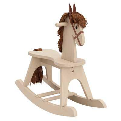 Wooden Rocking Horse - Wayfair