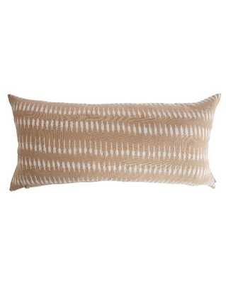 "LYLE PILLOW WITHOUT INSERT, 12"" x 24"" - McGee & Co."
