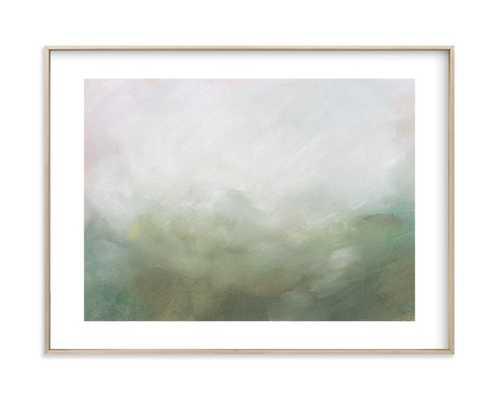 Morning Mist, 18x24 Framed Art - Minted