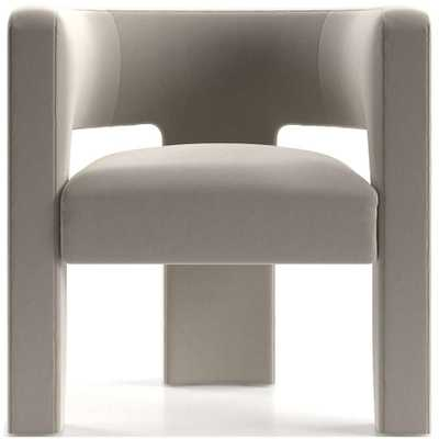 Sculpt Chair - Variety, Parchment - Crate and Barrel