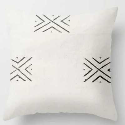 "big X Throw Pillow // Indoor // 18""x18"" - Society6"