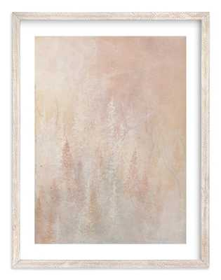 Shine, 30x40 Whitewashed Herringbone Frame - Minted