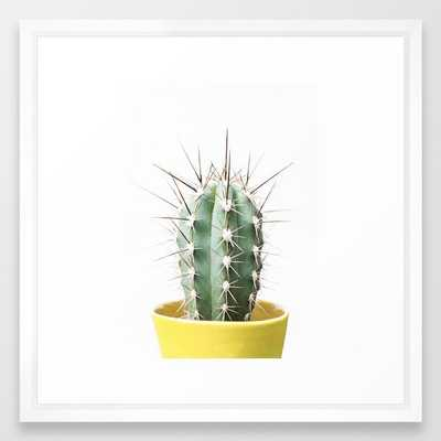 My prickly friend Framed Art Print - Society6