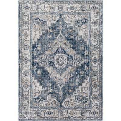 "Harper Rug, 7'10"" x 10', Black - Cove Goods"