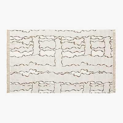 Tilda Handloomed Abstract Rug - CB2