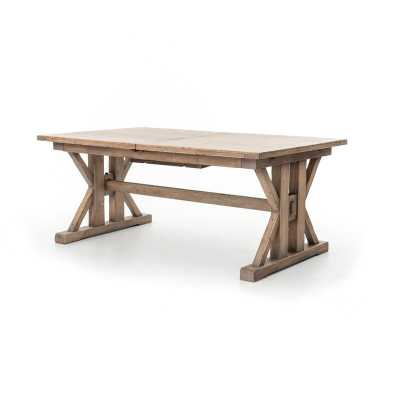 TUSCAN SPRING EXTENDABLE DINING TABLE - Perigold