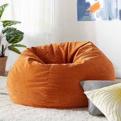 Kids Upholstered Bean Bag Chair - Wayfair