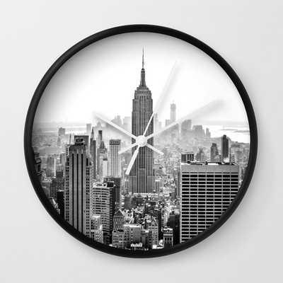 New York City Wall Clock - Society6