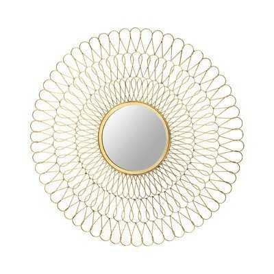 Round Gold Mirror - Wayfair