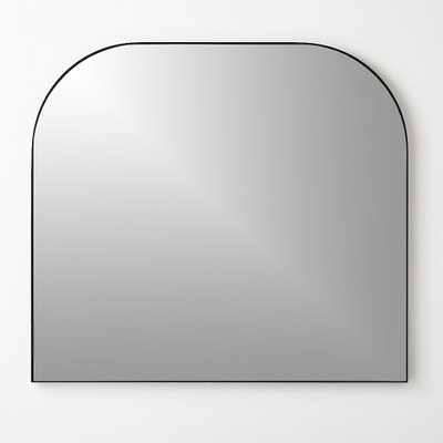 Infinity Black Mantel Mirror - CB2