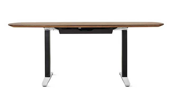 Renew™ Executive Sit-to-Stand Desk with Advanced Cord Management - Design Within Reach