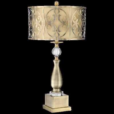 Possini Euro Doris Brass Metal Table Lamp - Style # 63T40 - Lamps Plus