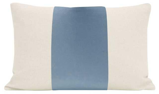 "The Little Lumbar :: PANEL Signature Velvet // Hydrangea Blue - 12"" X 18"" - Little Design Company"
