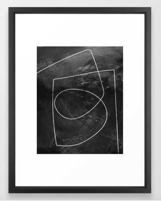 Minimal 9 Framed Art Print - Society6