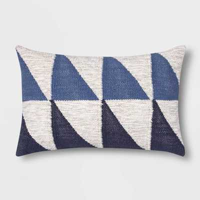 Color Blocked Geometric Lumbar Pillow - Project 62™ - Target